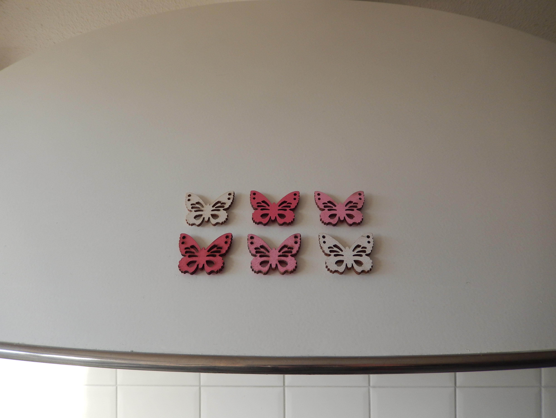 koelkast magneet vlinders
